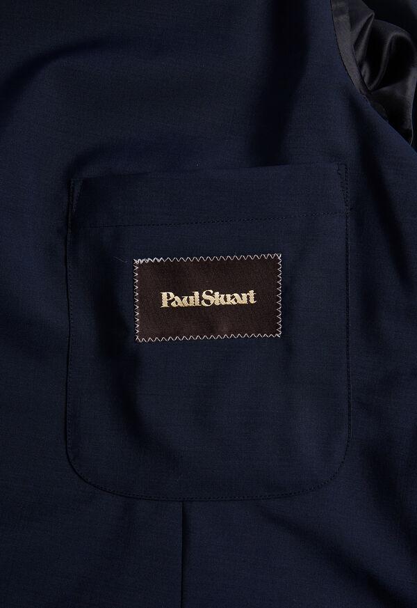 Navy Wool Blend Sport Jacket, image 3