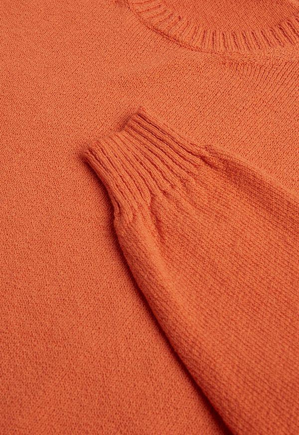 Boucle Crewneck Sweater, image 3