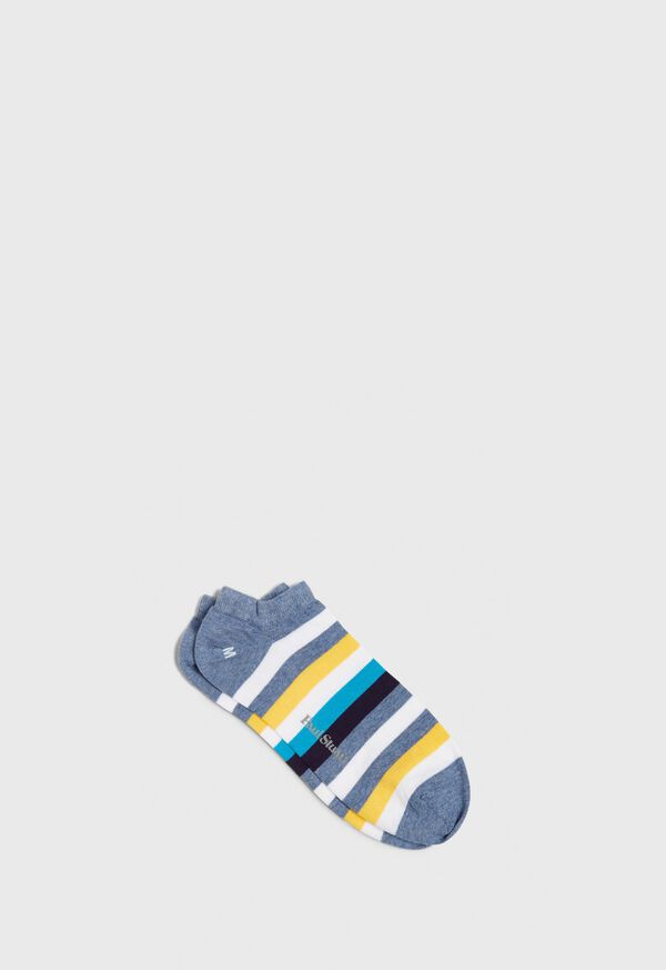 Stripe Trainer Ankle Sock, image 1