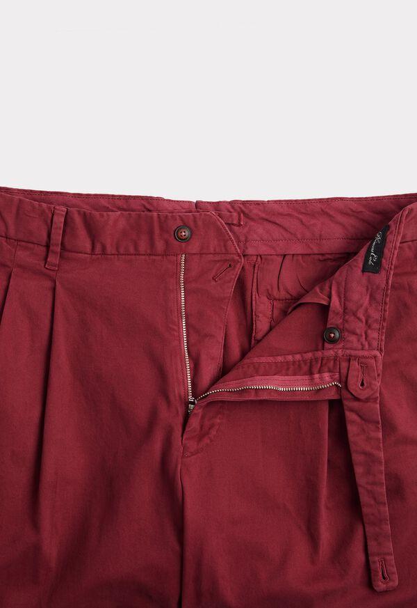 Solid Cotton Stretch Garment Dyed Gurkha Pant, image 2