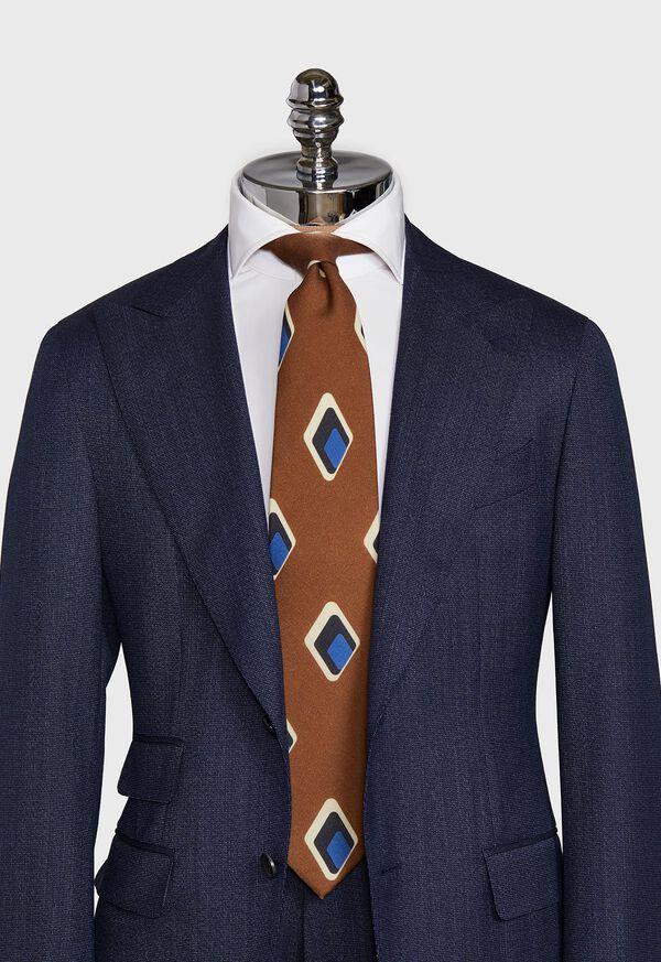 Deco Diamond Wool Tie, image 2