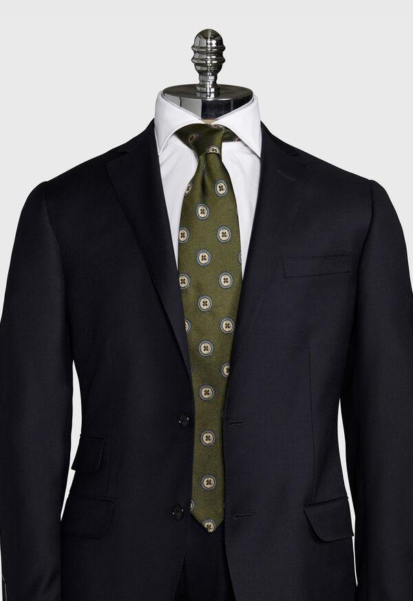 Button Silk Tie, image 2
