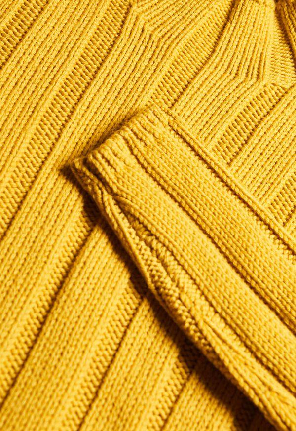 Ribbed Mock Neck Sweater, image 2
