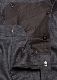 Super 120s Wool Flannel Pant, thumbnail 2