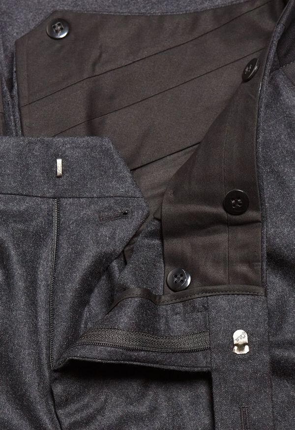 Super 120s Wool Flannel Pant, image 2