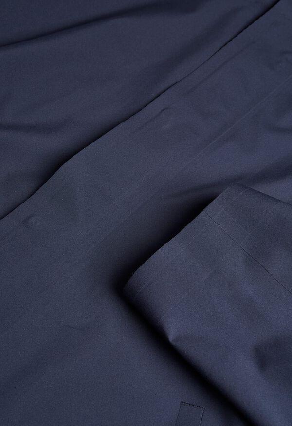 Navy Hooded Waterproof Jacket, image 2