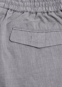 Solid Linen Blend Pant, thumbnail 3