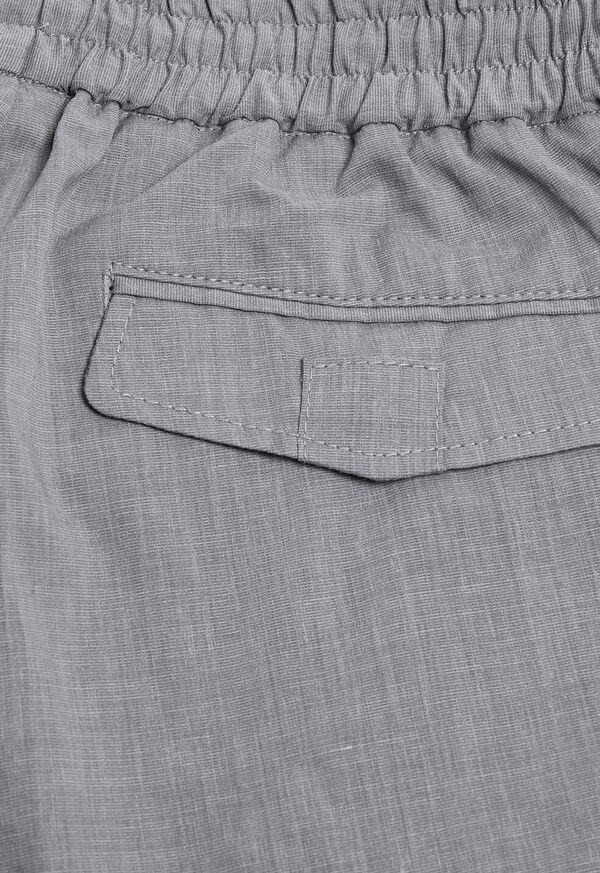 Solid Linen Blend Pant, image 3
