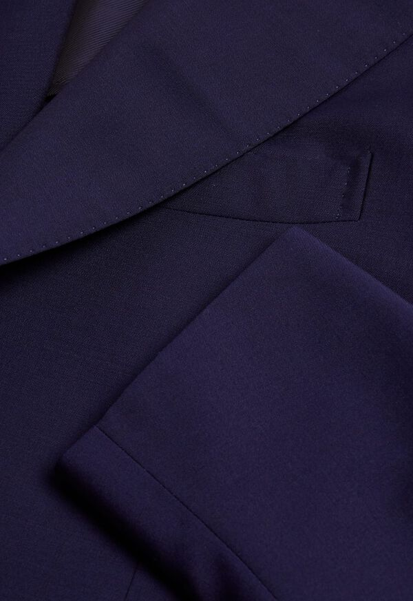 Navy Solid Dinner Jacket, image 2