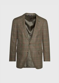 Olive and Sage Houndstooth Sport Jacket, thumbnail 1