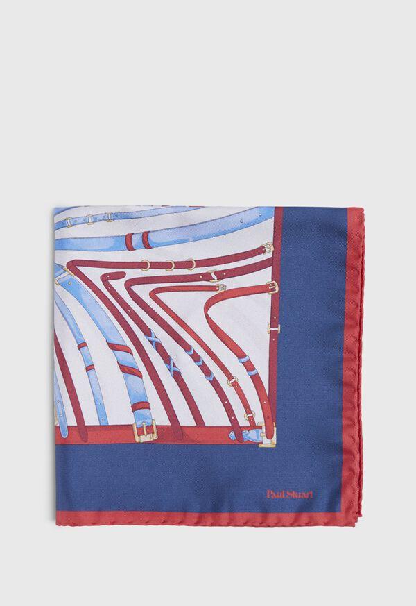 Belts and Bits Pocket Square, image 2