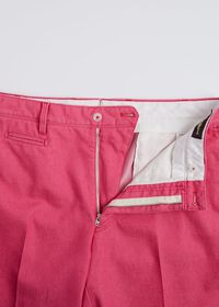 Pink Cotton Blend Denim Pant, thumbnail 4