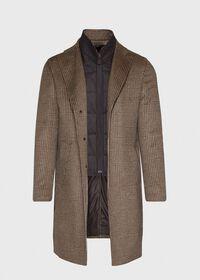 Plaid Coat with Zip-Out Vest, thumbnail 2