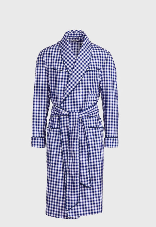Gingham Check Robe, image 1