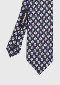 Mini Paisley Silk Tie, thumbnail 1