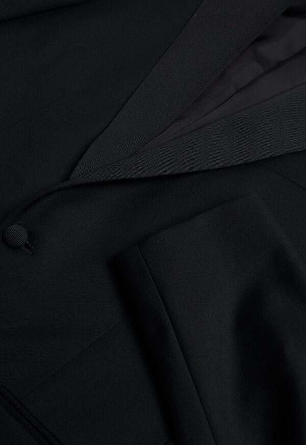 Super 110s Wool Peak Lapel Tuxedo, image 4