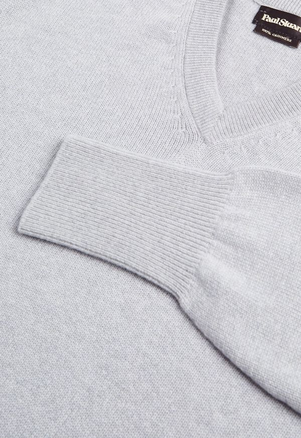 Scottish Cashmere V-Neck Sweater, image 36