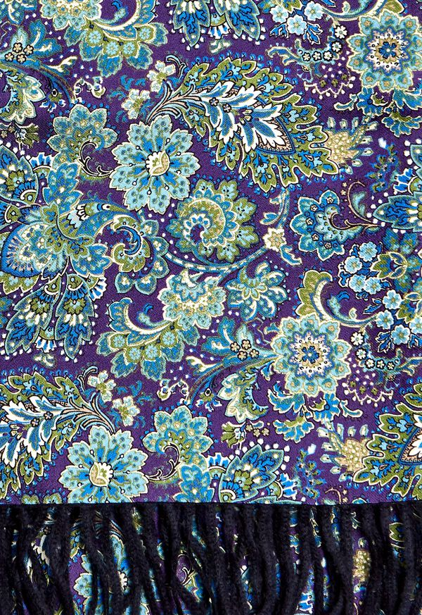 Reversible Floral Scarf, image 2