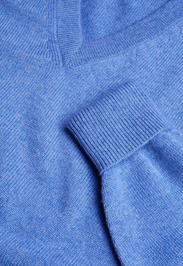 Scottish Cashmere V-Neck Sweater, image 29
