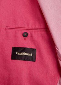 Pink Cotton Blend Denim Jacket, thumbnail 5