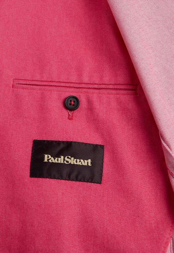 Pink Cotton Blend Denim Jacket, image 5