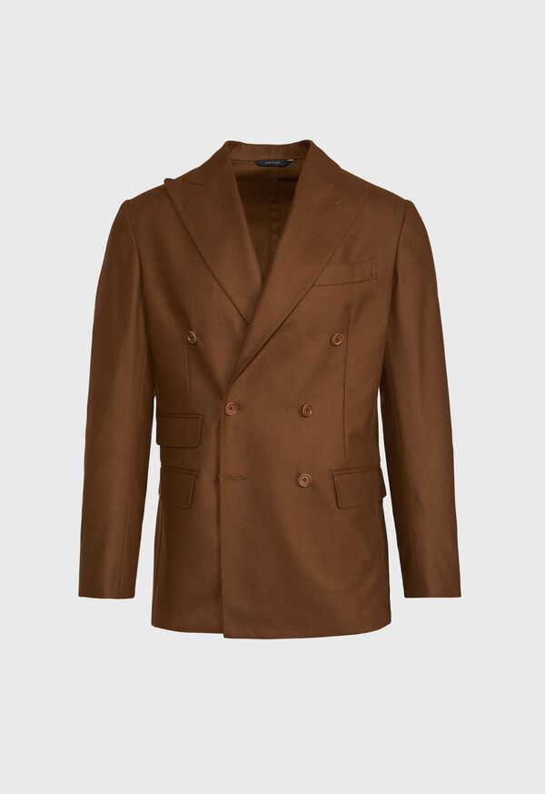 Brown Double Breasted Sport Jacket