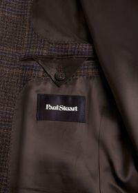 Brown and Lavender Plaid Jacket, thumbnail 3
