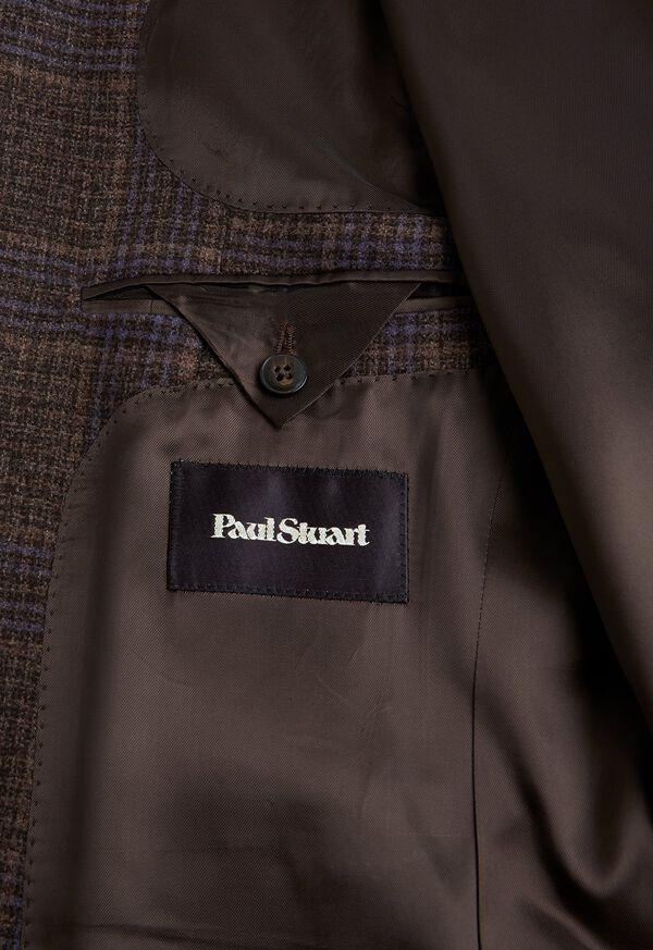 Brown and Lavender Plaid Jacket, image 3