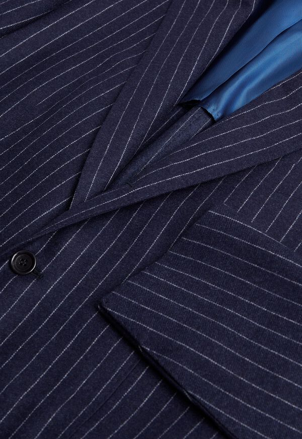 Navy Stripe Suit, image 2