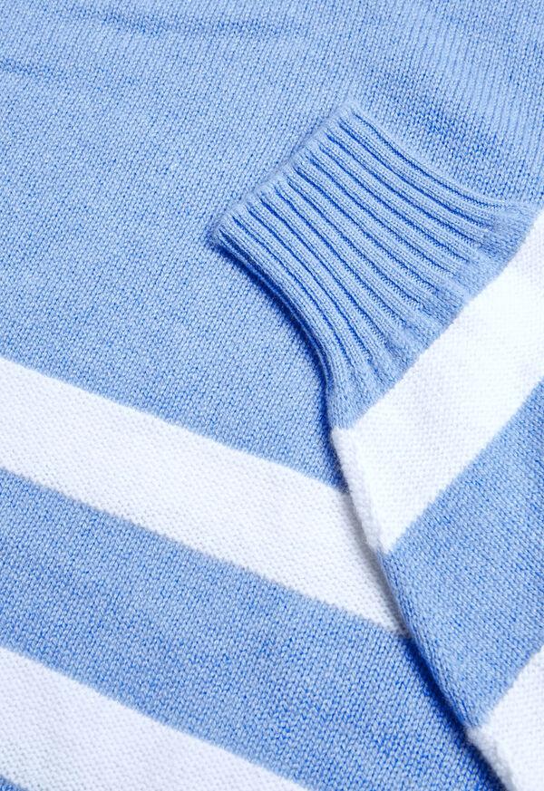 Crew Neck Stripe Sweater, image 2