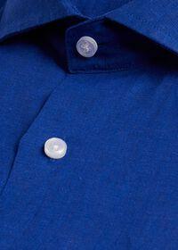 Solid Linen Sport Shirt, thumbnail 2