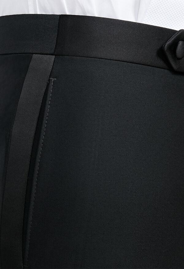 Black Italian Wool Tuxedo, image 5