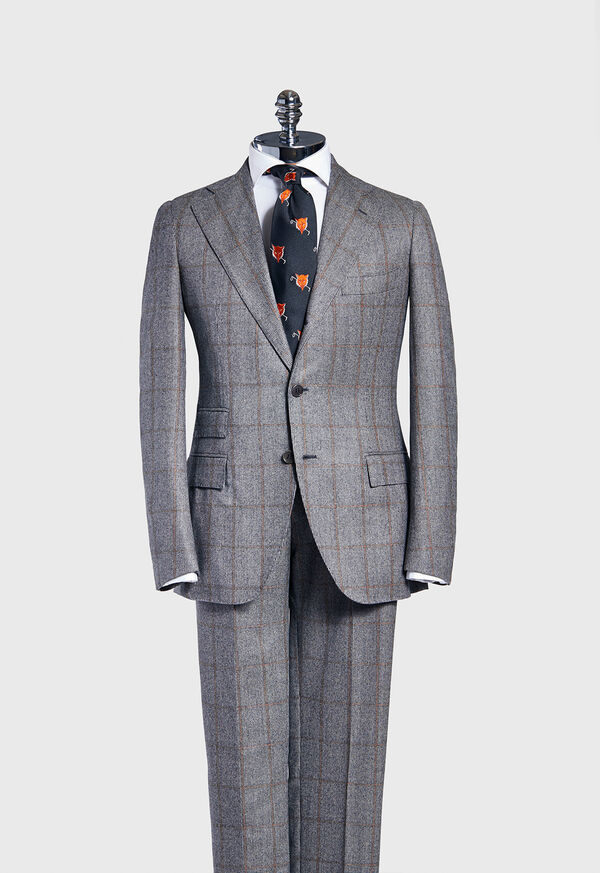 Windowpane Suit, image 1