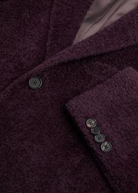 Eggplant Long Hair Overcoat, thumbnail 3