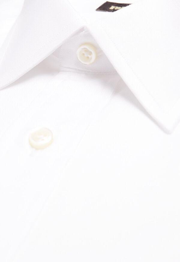 Super 140s 2-Ply Pinpoint Cotton Dress Shirt, image 2