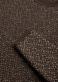 Popcorn Stitch Melange Sweater, thumbnail 2