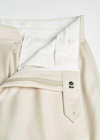 Super 110s Wool Tan Trouser, thumbnail 2