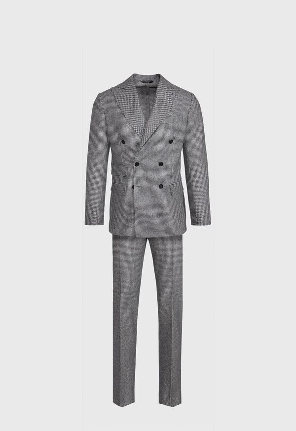 Double Breasted Mini Houndstooth Suit
