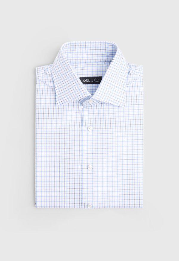Blue/White Tattersall Dress Shirt, image 1