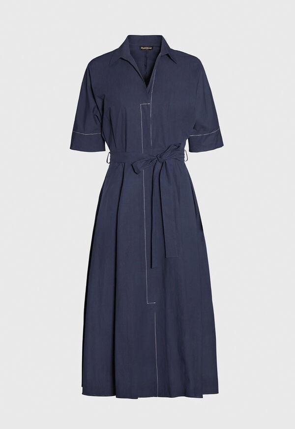 Belted Shirt Dress, image 1