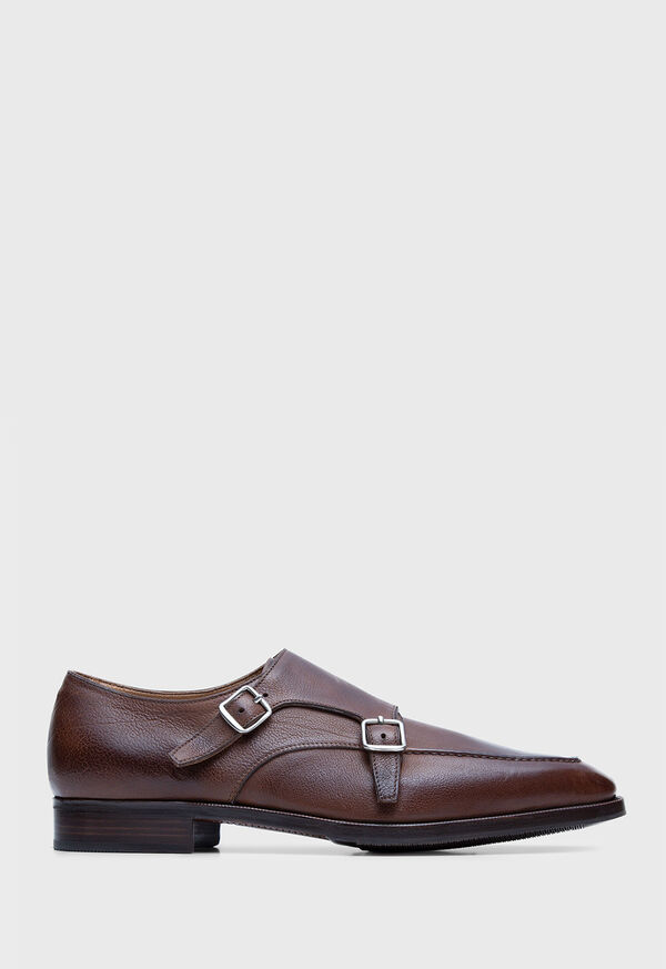 Lon Moccasin Toe Double Monk Strap, image 1