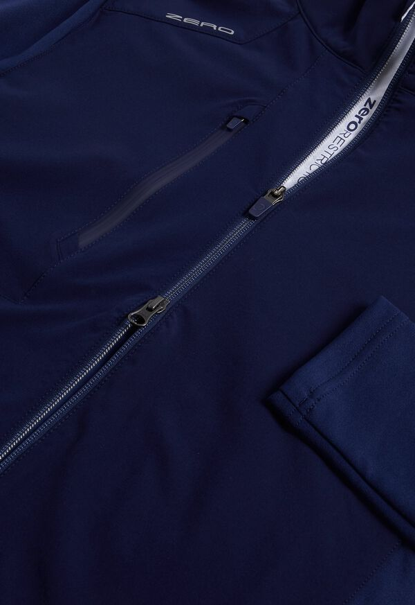 Melange Knit Full Zip Jacket, image 2