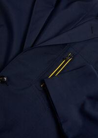 Navy Wool Blend Sport Jacket, thumbnail 2