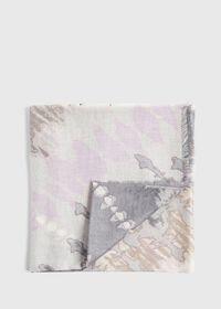 Tie Dye Print Scarf, thumbnail 1