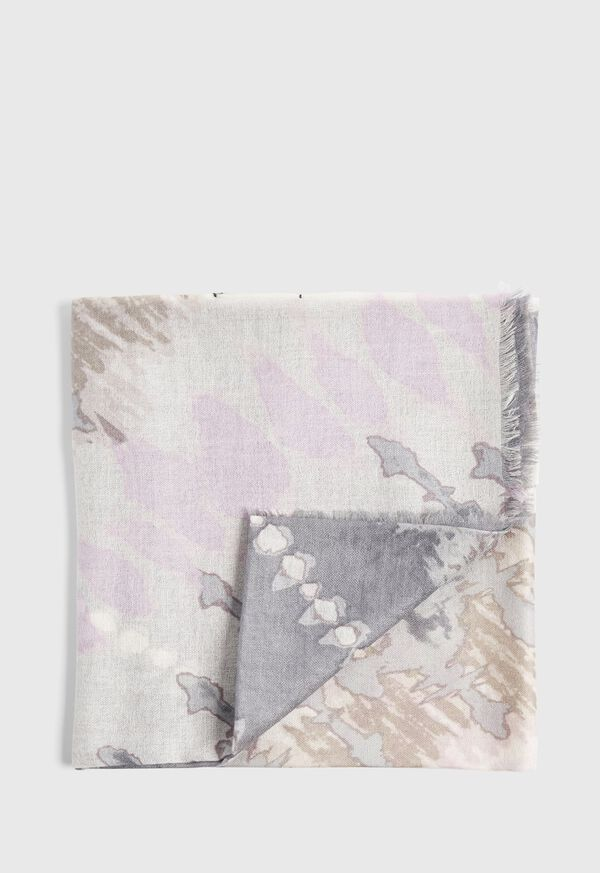 Tie Dye Print Scarf, image 1