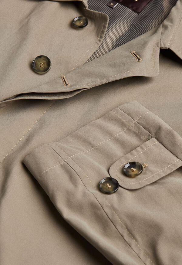 Suede Finish Raincoat, image 2