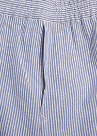 Seersucker Drawstring Pant, thumbnail 2
