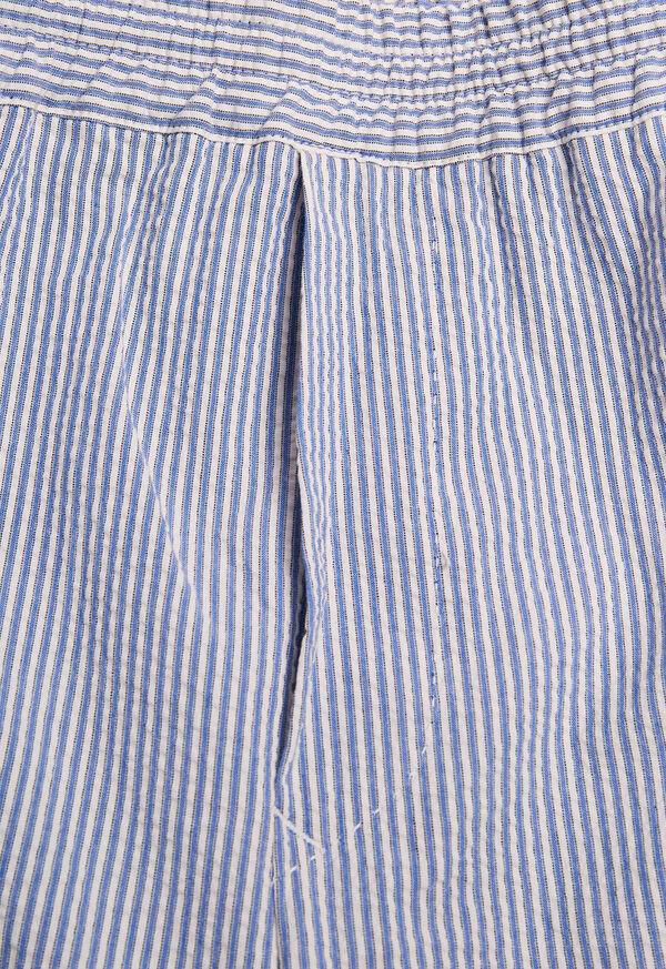Seersucker Drawstring Pant, image 2
