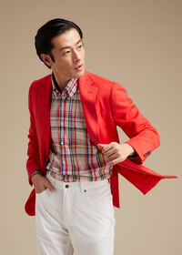 Red Cashmere Soft Jacket, thumbnail 3
