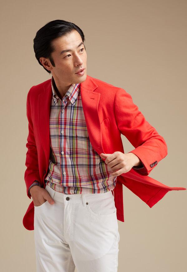 Red Cashmere Soft Jacket, image 3